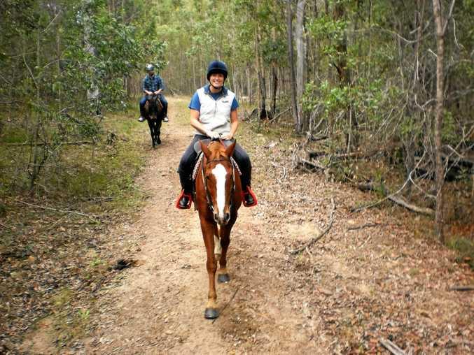 Hitting the trails at Curra Ridge Horse Rides