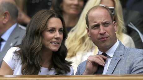 Britain's Prince William and Kate, the Duchess of Cambridge were on hand to watch Roger Federer's Wimbledon victory.