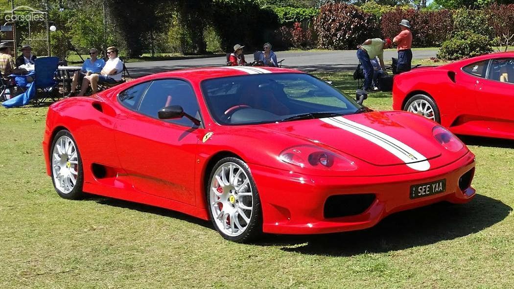 2004 Ferrari 360 Challenge Stradale Auto.