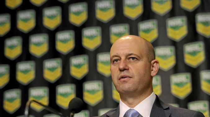 JOINING TALK: NRL CEO Todd Greenberg.