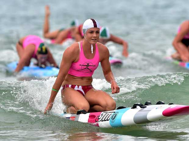 RULED OUT: Jordan Mercer won't be able to defend her world paddleboard title at Hawaii.