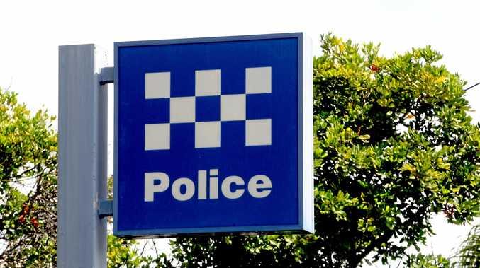 Police sign Photo: John Gass  / Daily News