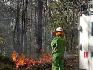 Smoke warning for Sunshine Coast as forest burns