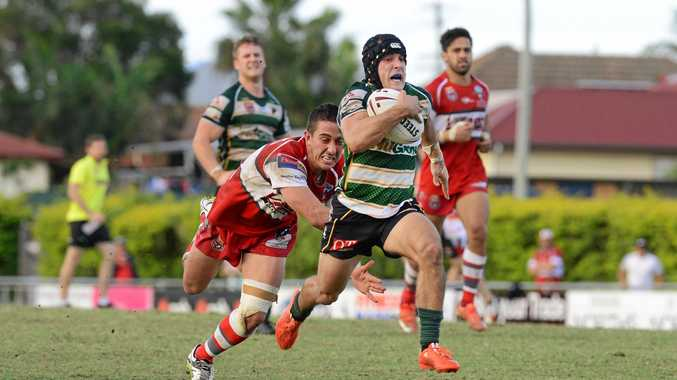 FINE FORM: Peter Whittaker was strong at hooker in the loss to Easts. He will be a key against Redcliffe this weekend.                 PHOTO: DAVID NIELSEN