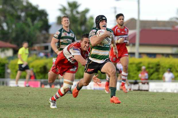 FINE FORM: Peter Whittaker was strong at hooker in the loss to Easts. He will be a key against Redcliffe this weekend.