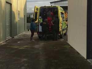 Elderly man trapped in campervan for three days