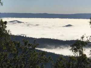Impressive blanket of fog covers Lockyer Valley