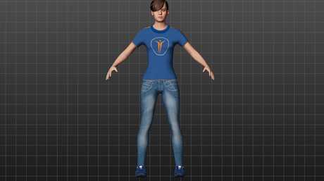 A full body avatar.