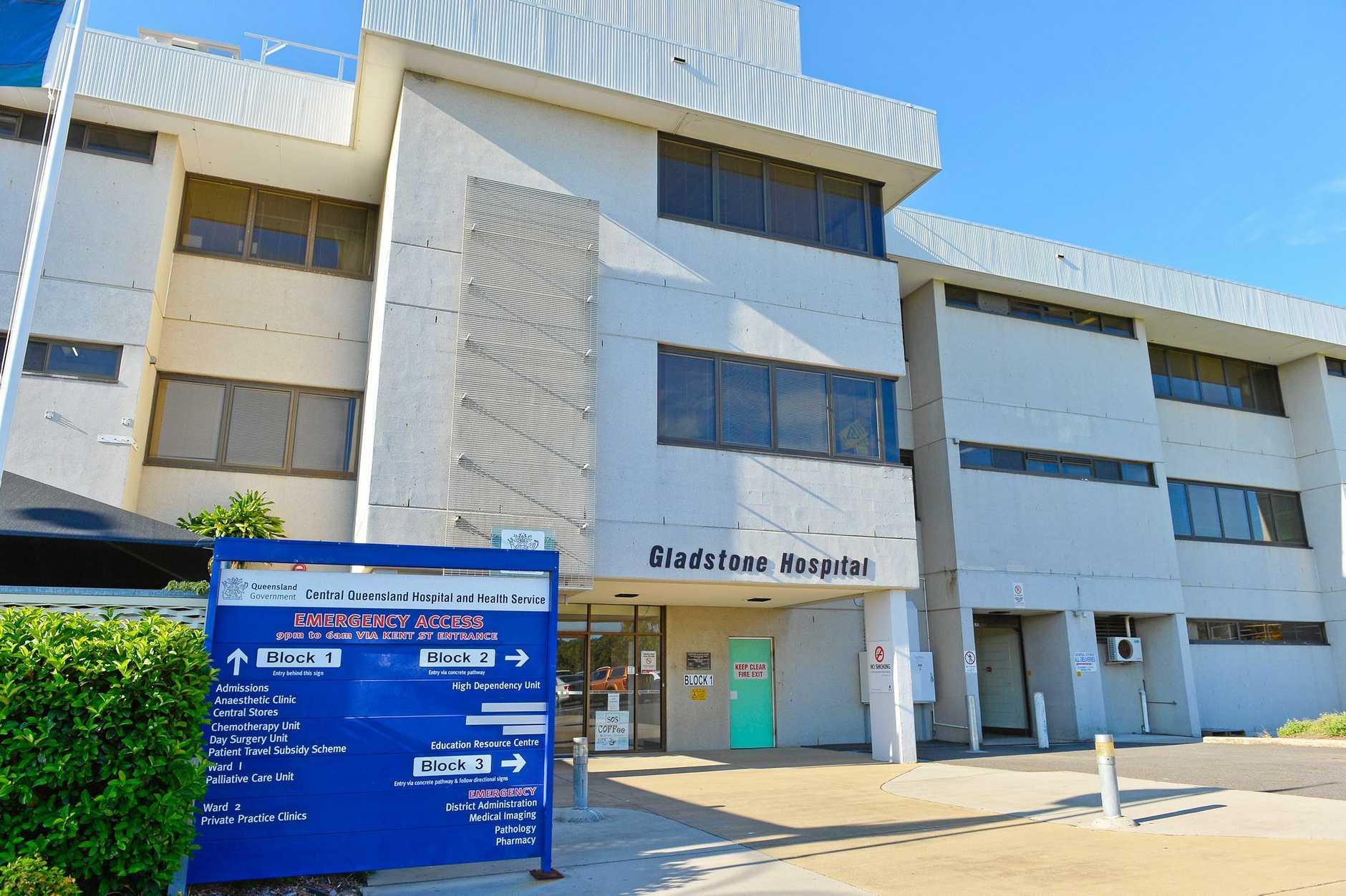 Gladstone hospital January 19, 2017