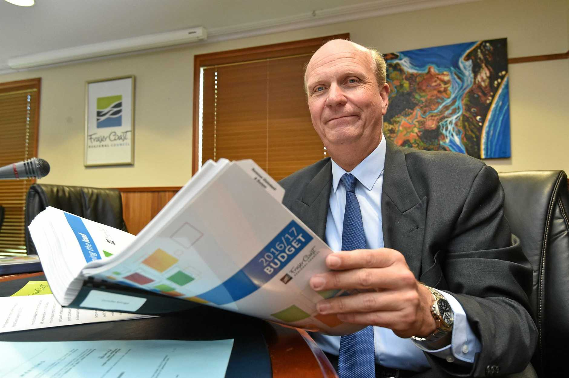 Fraser Coast Regional Council 2016/17 budget - Cr. Rolf Light.