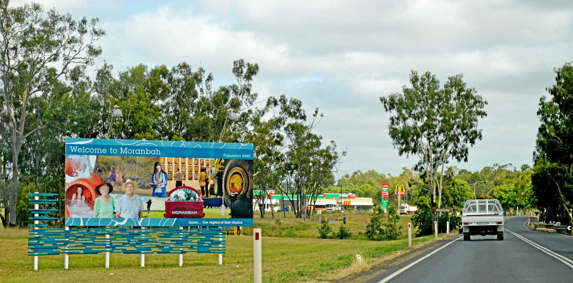 Moranbah had a population decline of just 2.3% in the past five years