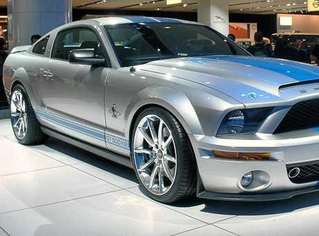 CLASSIC CRASH: The Shelby Mustang, a classic marque since 1965.