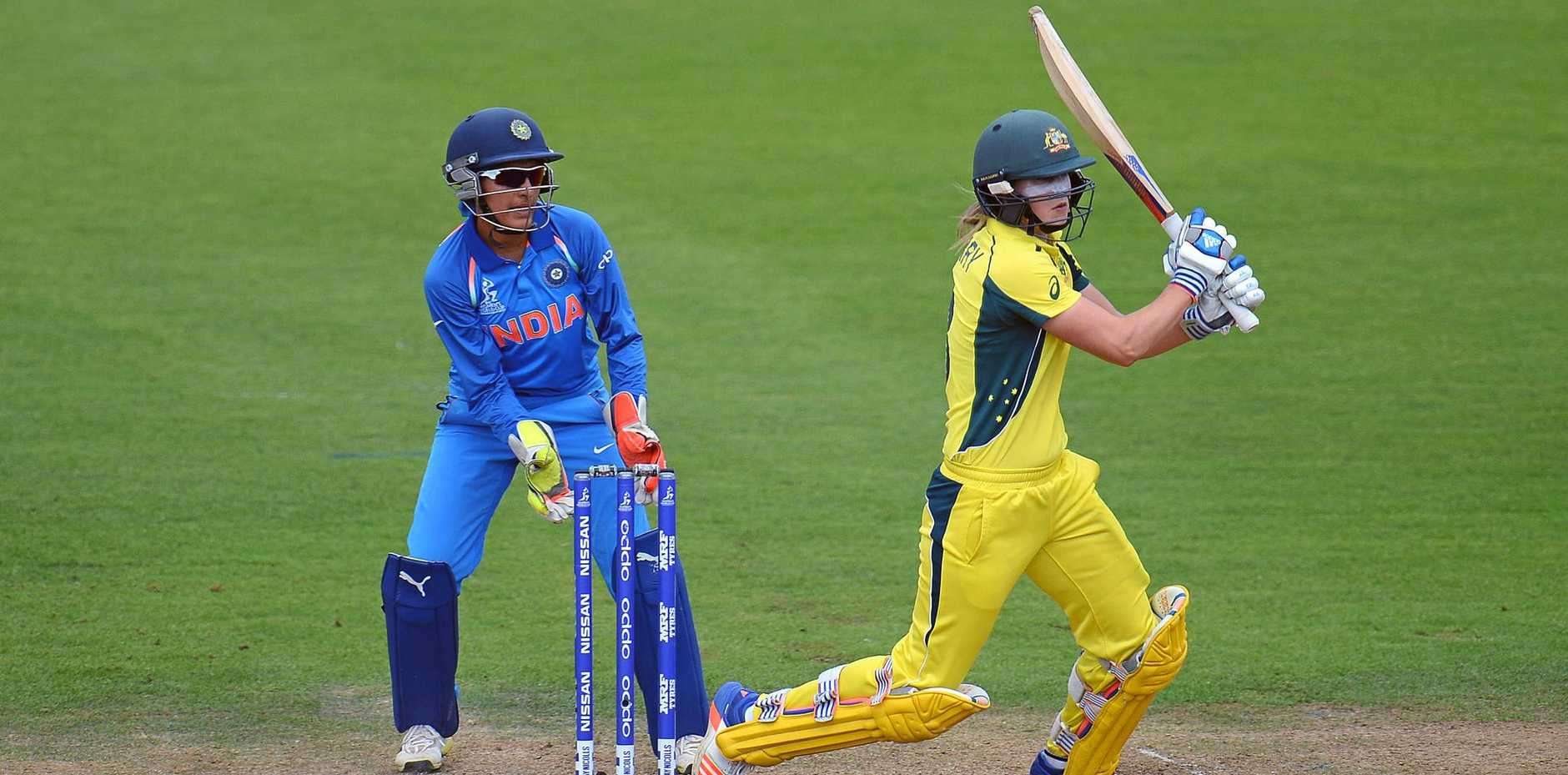 TOP OF THE WORLD: Australia's Ellyse Perry is the leading all-rounder in women's one-day cricket.