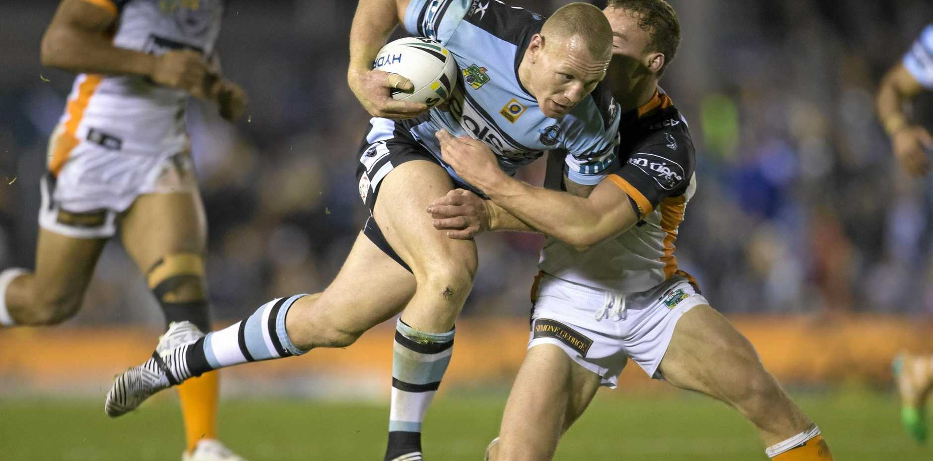 MORE PLEASE: Luke Lewis is hungry to add to his two premiership wins.