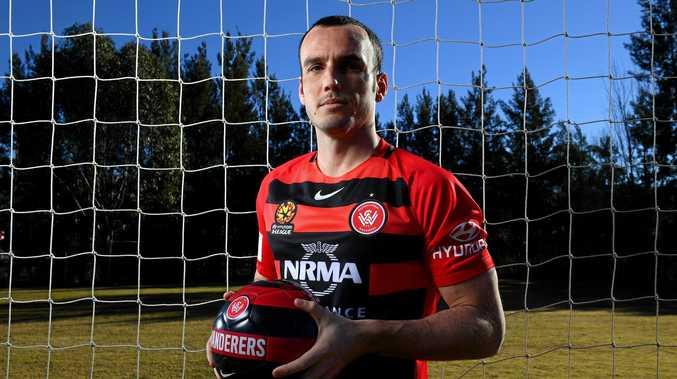 Western Sydney Wanderers signing Mark Bridge.