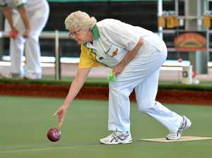 Bowls action at North Mackay