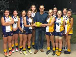 New jerseys give Kawana Park Eagles girls' teams a boost