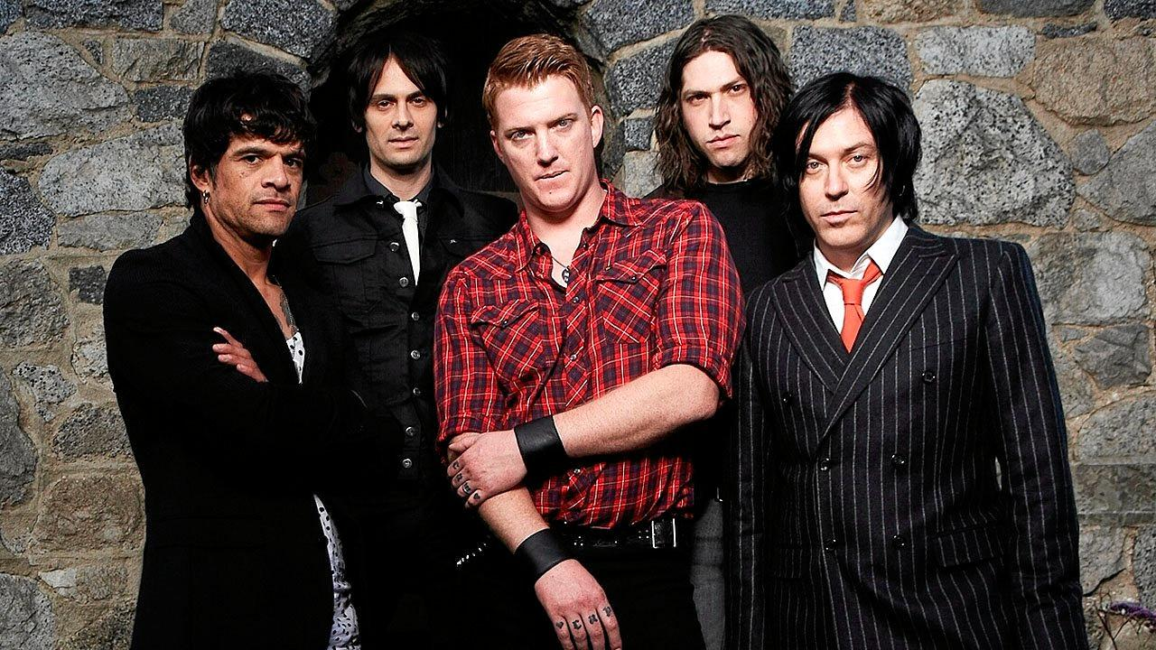 Queens of the Stone Age. Supplied by SITG media.