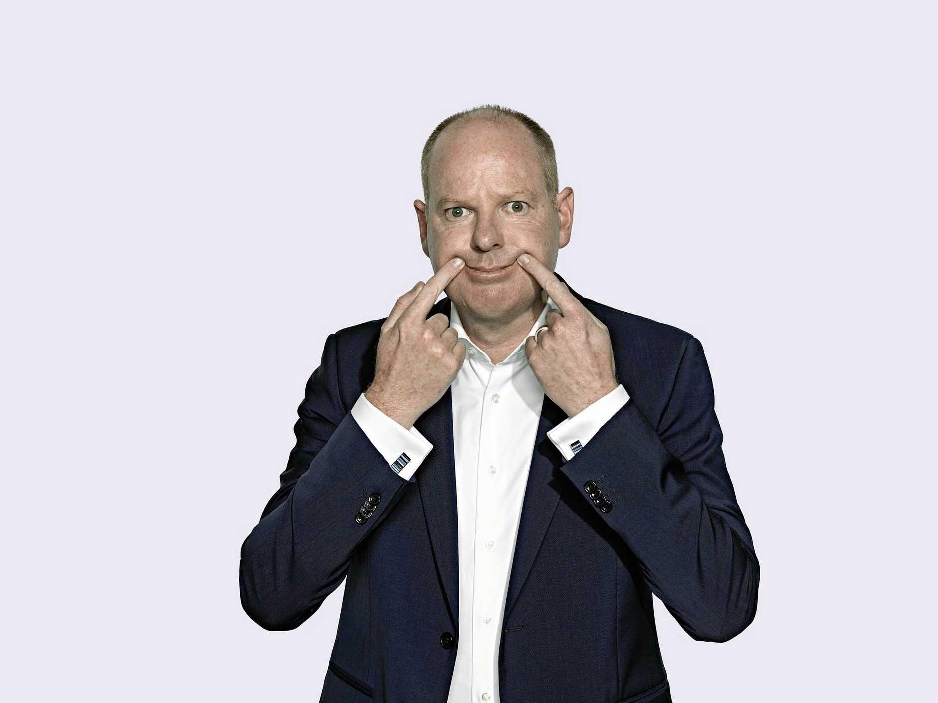 Australian comedian Tom Gleeson will host a political forum at Splendour.
