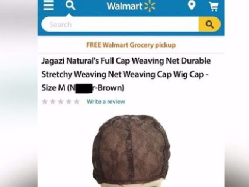 Walmart quickly removed the product