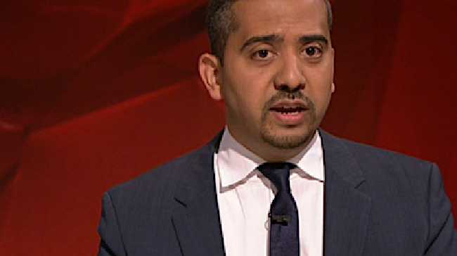 British journalist Mehdi Hasan on Q&ASource:ABC