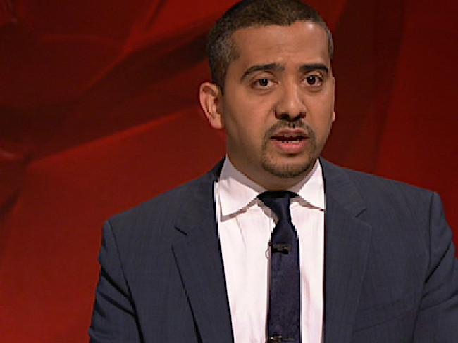 British journalist Mehdi Hasan on Q&ASource:ABC