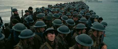 A scene from the movie Dunkirk.