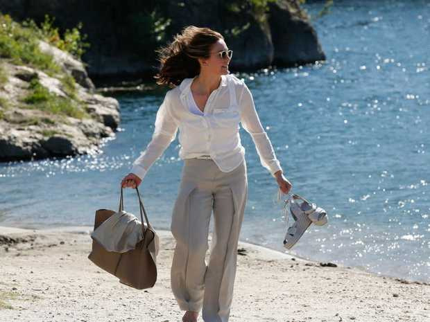 Diane Lane in a scene from the movie Paris Can Wait.