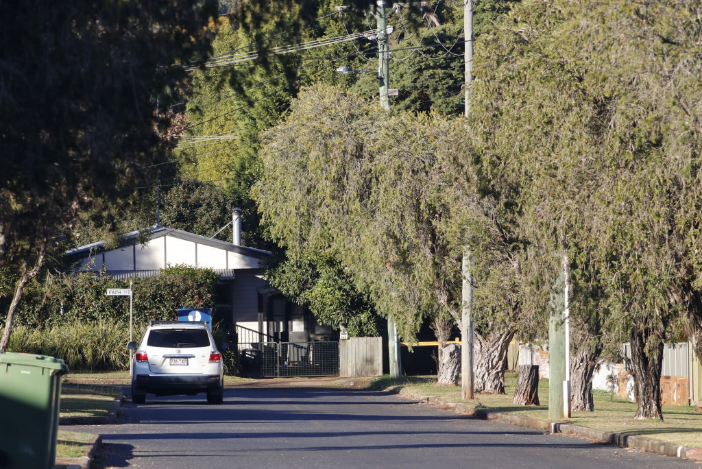 Police are investigating after a man was shot in a Toowoomba.