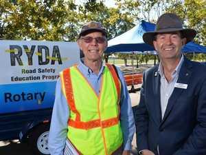 Rotary's RYDA driver program.