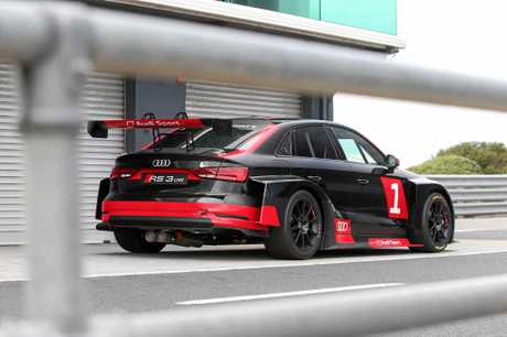 The 2017 Audi RS 3 LMS race car.