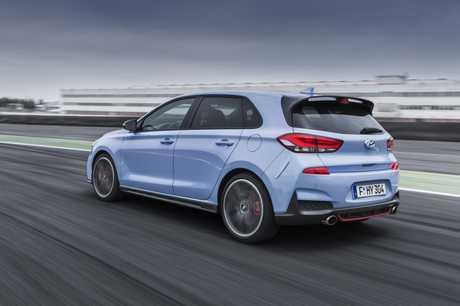 The Hyundai i30N is coming soon.