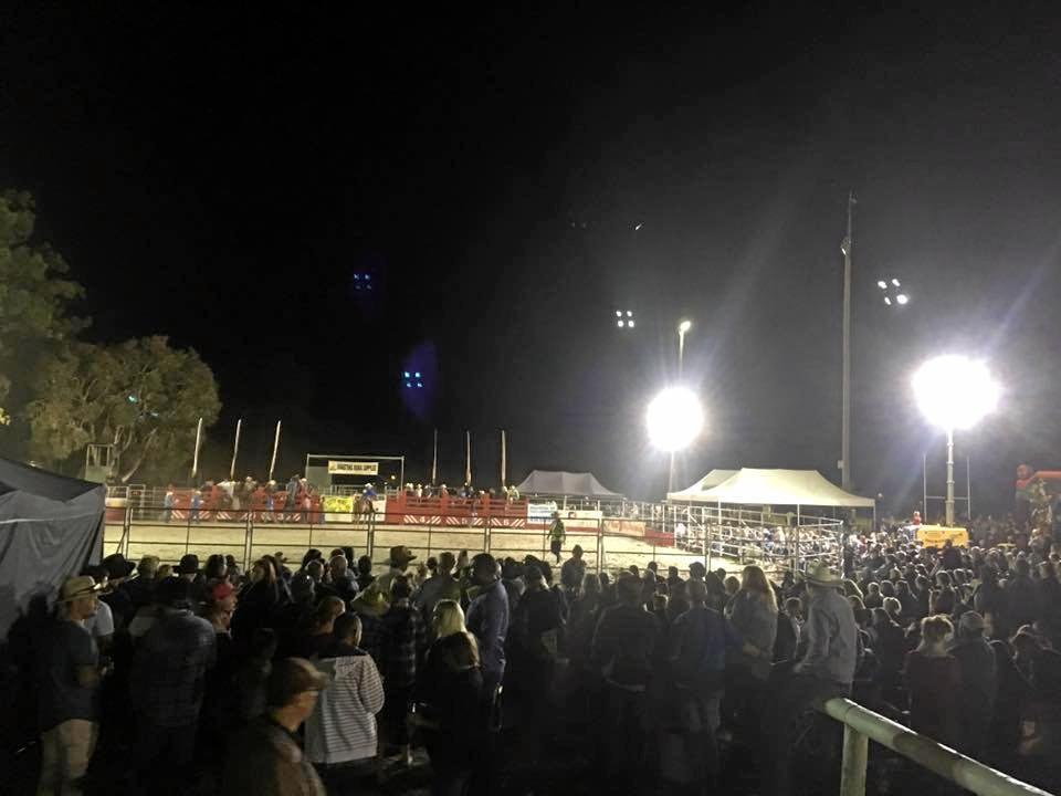 Scenes from the crowd at last week's Torbanlea Rodeo.