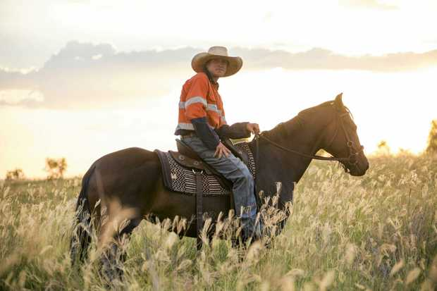 IN FOCUS: Matt Parker works full time for New Acland Pastoral as a station hand.