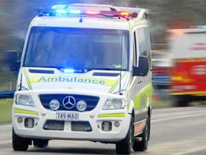 Fractured collarbone, man trapped, two crashes in 45 minutes