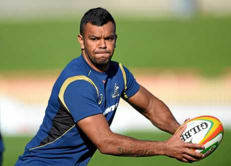 Kurtley Beale has been named in the Wallabies training squad after making his return from injury.