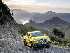 Luxury ute? Mercedes makes play for posh tradies