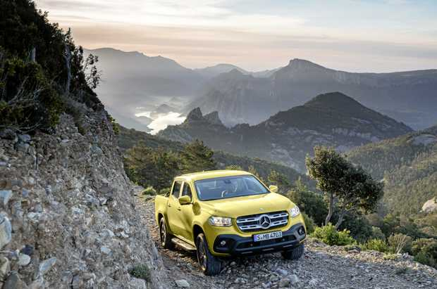 Mercedes-Benz will launch the new X-Class ute early in 2018.