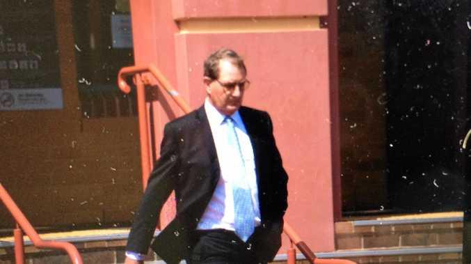 Glenn Allan Taylor leaves Lismore Local Court on November 28, 2016.