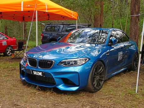 The 2016 BMW M2 at the 2016 Autobarn Noosa Hill Climb Winter Challenge.