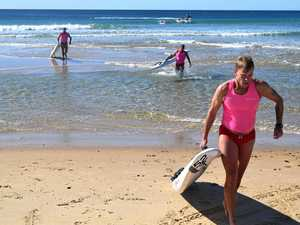 Race against the clock for lifeguards
