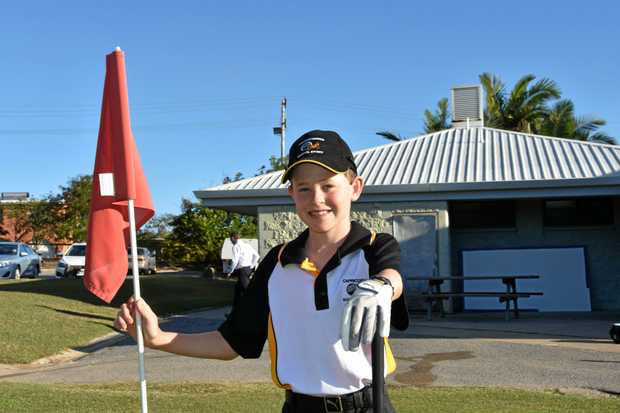 PREPARED: Declan Corke is ready to give the Queensland State Schools Golf Championships in Toowoomba a red-hot crack.