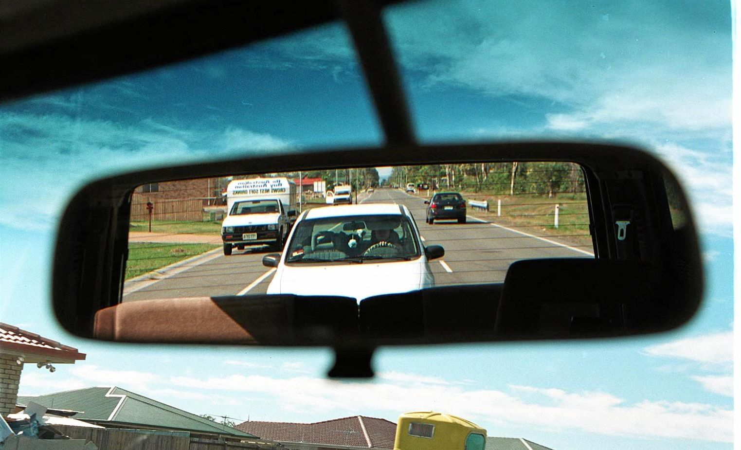 BEHIND YOU: Tailgating is ranked number one on the most annoying driver habits.
