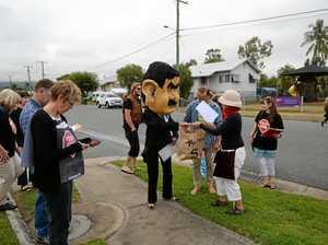 Adani protest Rockhampton