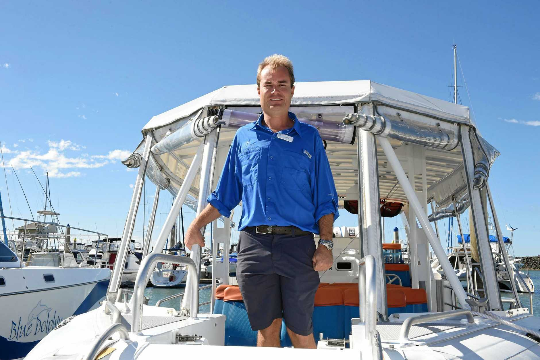 Pacific Whale Foundation skipper Scott Whitcombe wishes he could have done more to help the whale.