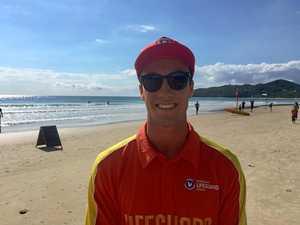 Lifeguard Jai earns his stripes