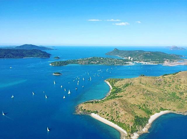 Hamilton Island, where Walsh has been working and staying off drugs.