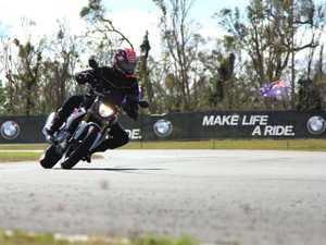 BMW unleashes new bike on Proserpine track