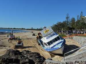 Matahari Boat-Mooloolaba Beach.