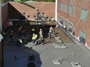Mammoth concrete pour